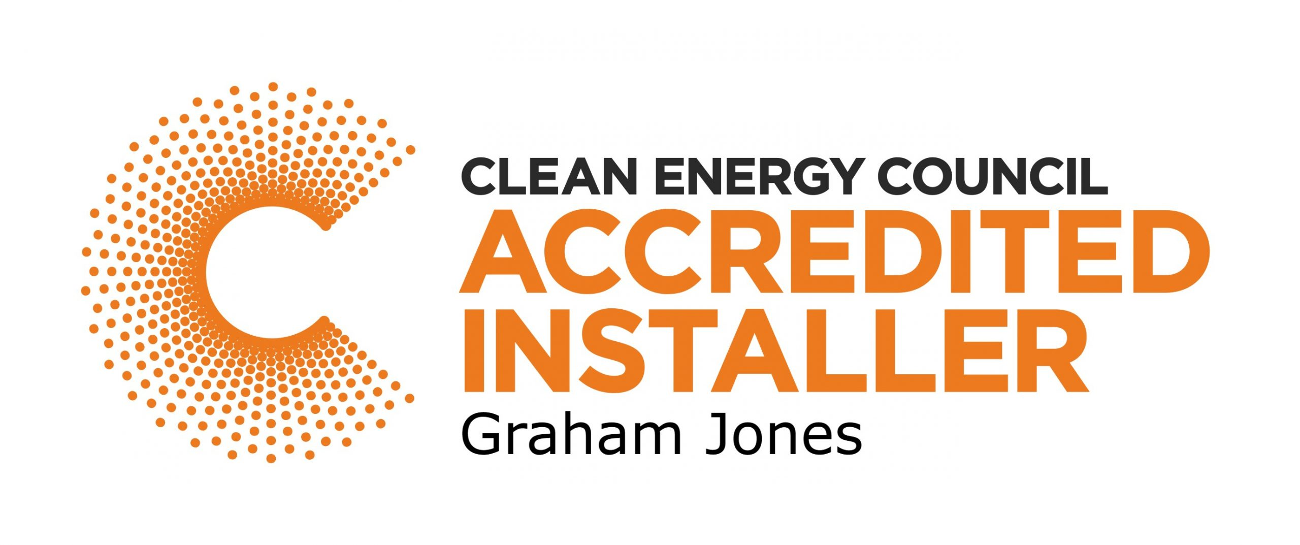 accreditation image for the clean energy council